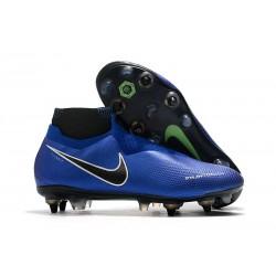 Nike Phantom Vision Elite DF SG-PRO AC Hombres -Azul Cromo Blanco