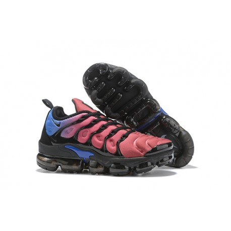 Nike Zapatos Air VaporMax Plus Rosa Negro Azul