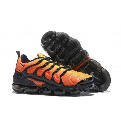 Nike Air VaporMax Plus Hombre Naranja Negro