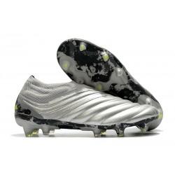 Botas de fútbol adidas Copa 20+ FG Silver Amarillo