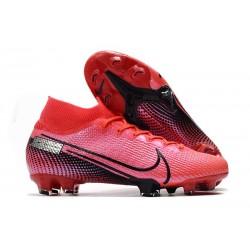 Nike Botas de Fútbol Mercurial Superfly 7 Elite FG Láser Crimson Negro