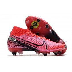 Nike Mercurial Superfly 7 Elite SG-Pro Anti-Clog Láser Crimson Negro