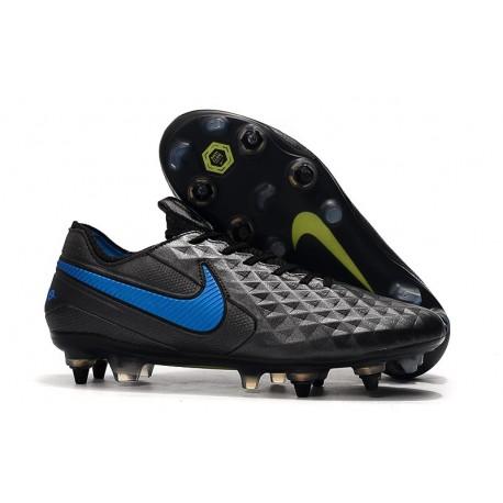 Nike Zapatilla Tiempo Legend 8 Elite SG-Pro AC Negro Azul