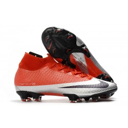 Nike Future DNA Mercurial Superfly VII Elite FG Rojo Plata