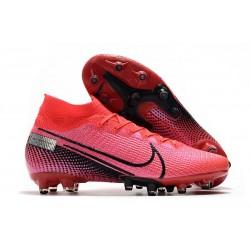 Zapatos Nike Mercurial Superfly VII Elite AG-Pro Láser Crimson Negro