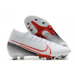 Zapatos Nike Mercurial Superfly VII Elite AG-Pro Blanco Rojo