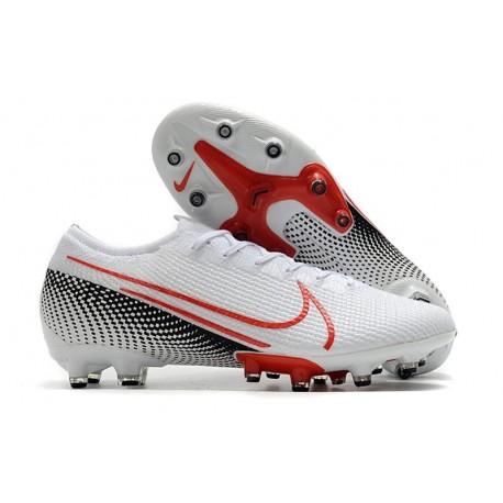 Zapatos Nike Mercurial Vapor XIII Elite AG-PRO Blanco Láser Crimson