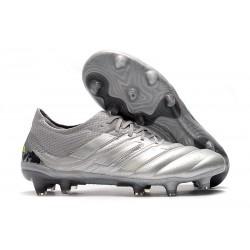 adidas Copa 19.1 FG Zapatos de Fútbol Silver Amarillo