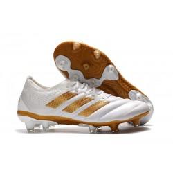 Zapatillas de Futbol adidas Copa 19.1 FG Blanco Oro