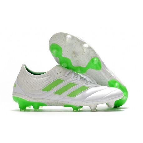 Zapatillas de Futbol adidas Copa 19.1 FG Blanco Negro Verde