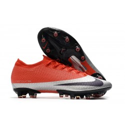 Zapatos Nike Mercurial Vapor XIII Elite AG-PRO Gris Negro Rojo
