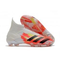 Zapatos adidas Predator Mutator 20+ FG Blanco Negro Pop