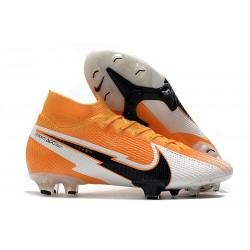 Tacos de Futbol Nike Mercurial Superfly VII Elite FG Láser Naranja Negro Blanco