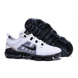 Zapatillas Nike Air VaporMax 2019 Para Hombres - Blanco Negro