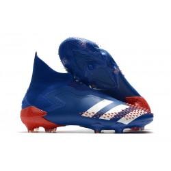 Zapatos adidas Predator Mutator 20+ FG Azul Blanco Rojo