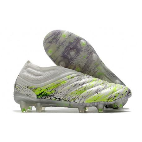 Botas de fútbol adidas Copa 20+ FG Blanco Negro Verde
