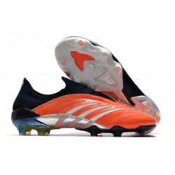 Zapatos de fútbol adidas Predator Archive FG Naranja Negro Plata