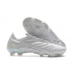 Zapatos de fútbol adidas Predator Archive FG Blanco