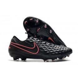 Nike Zapatos de Fútbol Tiempo Legend 8 Elite FG Negro Rosa