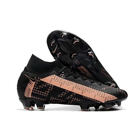 Nike Botas Mercurial Superfly 7 Elite FG Negro Rosa