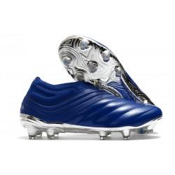 Botas de fútbol adidas Copa 20+ FG Azul Royal Plateado metalizado