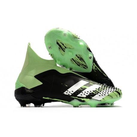 adidas Bota de Fútbol Predator Mutator 20+ FG Negro Verde Plata