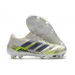 Zapatos de fútbol adidas Copa 20.1 FG Blanco Negro Verde