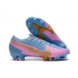 Nike Mercurial Vapor 13 Elite FG Azul Rosa Oro