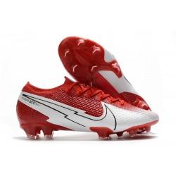 Nike Mercurial Vapor 13 Elite FG Rojo Blanco