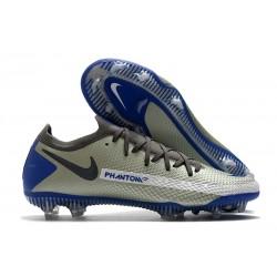 Nike Zapatos de Futbol Phantom GT Elite FG Azul Negro Gris