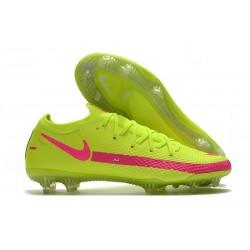 Nike Zapatos de Futbol Phantom GT Elite FG Amarillo Rosa