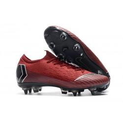 Nike Mercurial Vapor XII 360 Elite SG-Pro Anti Clog Rojo Negro