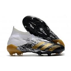 adidas Predator Mutator 20.1 FG Zapatos Blanco Dorado metalizado Negro