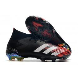 adidas Predator Mutator 20.1 FG Zapatos Fútbol Negro Blanco Active Red