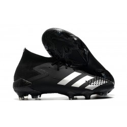 adidas Predator Mutator 20.1 FG Zapatos de Fútbol Negro Plata