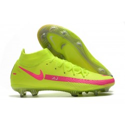 Nike Phantom GT Elite Dynamic Fit FG Verde Rosa