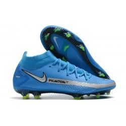 Botas Nike Phantom GT Elite DF FG Azul Plata