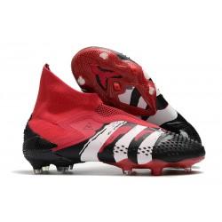 Zapatillas adidas Predator Mutator 20+ FG Negro Rojo Blanco