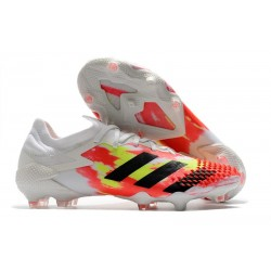 Zapatillas adidas Predator Mutator 20.1 Low FG Blanco Negro Pop