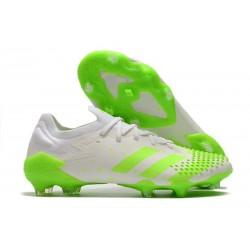 Zapatillas adidas Predator Mutator 20.1 Low FG Blanco Verde