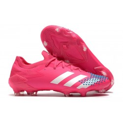 Zapatillas adidas Predator Mutator 20.1 Low FG Rosa Blanco