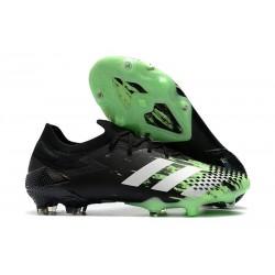 Zapatillas adidas Predator Mutator 20.1 Low FG Negro Blanco Verde