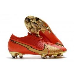 Nike Mercurial Vapor 13 Elite FG Ronaldo CR100 Rojo Oro