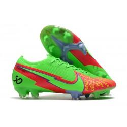 Nike Mercurial Vapor 13 Elite FG Faith Verde Rojo