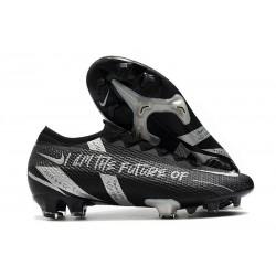 Nike Mercurial Vapor 13 Elite FG Future Negro Plata