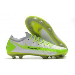 Nike Nuevo 2021 Phantom GT Elite FG Blanco Verde
