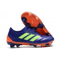 Zapatillas de Futbol adidas Copa 19.1 FG Violeta Verde