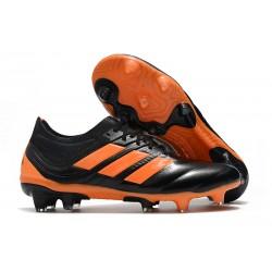 Zapatillas de Futbol adidas Copa 19.1 FG Negro Naranja
