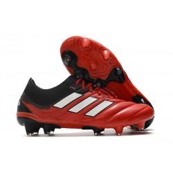 Zapatos de fútbol adidas Copa 20.1 FG Rojo Blanco Negro