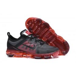 Zapatillas Nike Air VaporMax 2019 Para Hombres - Negro Rojo